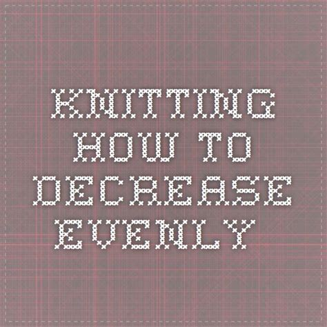 17 Best Images About Knit On Free Pattern