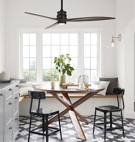 ceiling fan in dining room rogue round dining table 54 quot rejuvenation polyvore