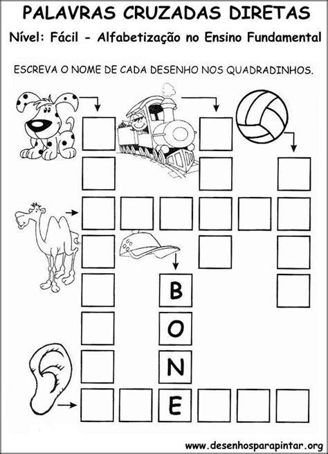 Palavras cruzadas Turma da Monica para crianças   Bela & Feliz