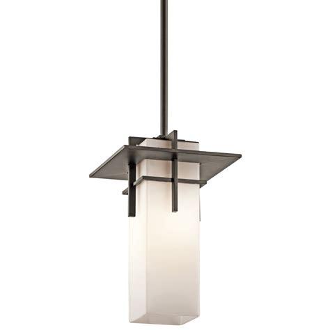 Outdoor Pendant Lighting Modern Kichler Lighting 49645oz Caterham Modern Contemporary Outdoor Hanging Light Kch 49645oz