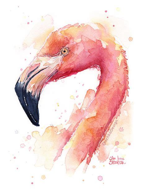 Jen House Design Flamingo Art Olechka Design