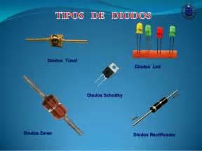 que es capacitor y diodo diodos