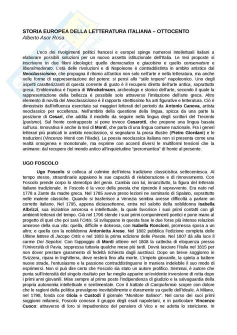 prof testo riassunto esame testi e questioni di letteratura italiana