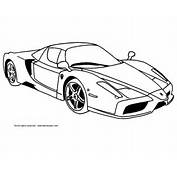 Auto Kleurplaten Ferrari