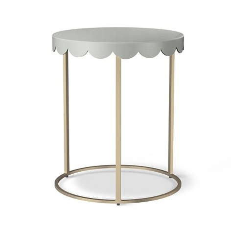 Pink Accent Table Scallop Accent Table Daydream Pink Pillowfort Target