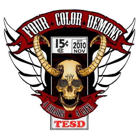 four color demons four color demons the original motorcycle club for comic