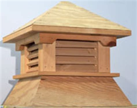 shed 1 cupola cedar plywood roof shed 1