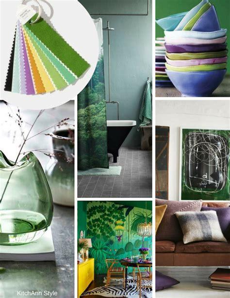 pantone interiors  color palettes kitchen studio