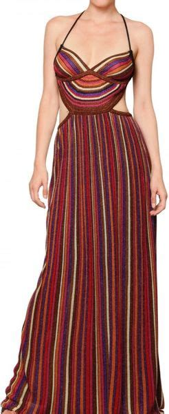 Of The Week Dolce Gabbana Striped Lurex Knit And Chain Shorts by M Missoni Striped Lurex Knit Cut Out Ba Dress In