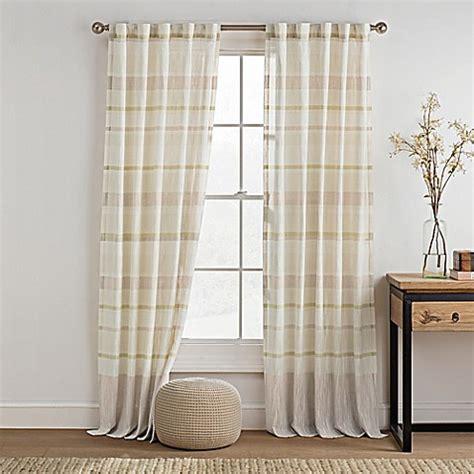 bed bath and beyond logan utah buy kas room logan 108 inch rod pocket back tab window