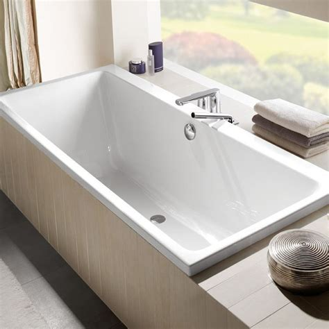 badkuip 170x75 ligbad villeroy en boch subway 170x75 cm wit uba170sub2v01