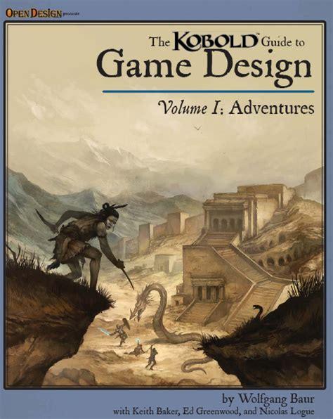 game design guide kobold guide to game design vol 1 kobold press store