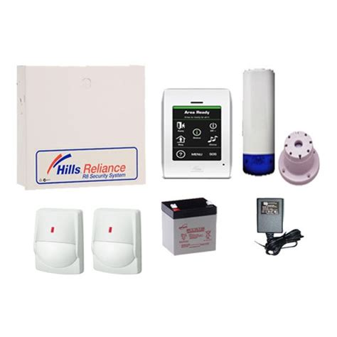reliance 8 nx8 alarm kit inc wired detectors