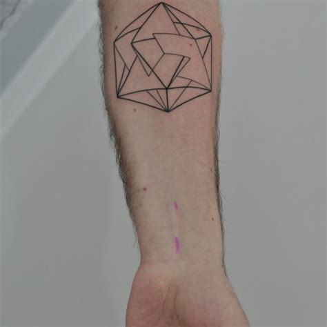 tattoo with geometric shapes 100 geometric tattoo designs meanings shapes