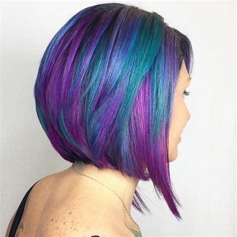 mermaid colored hair pulp riot mermaid hair colour blue purple green