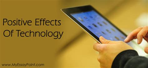 Effects Of Technology Essay by Negative Effects Of Technology On S