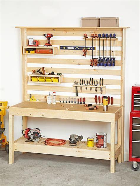 garage workbench and cabinet plans workbench with wall storage woodworking plan workshop