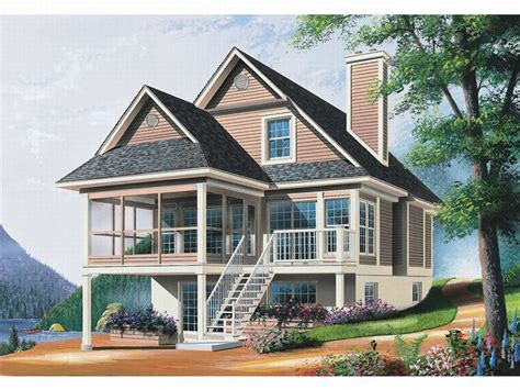 waterfront cottage plans plan 027h 0071 find unique house plans home plans and