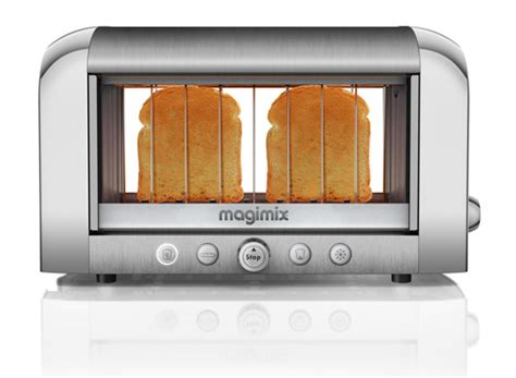 Wide Slot Toasters See Through Vision Toaster From Magimix Design Milk