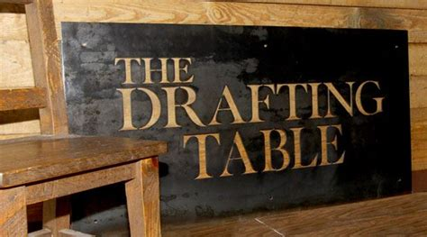 Drafting Table Atlanta Atlanta S Newest Food Centered Pub The Drafting Table To Both Foodies Cocktail