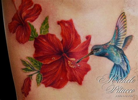 hibiscus hummingbird tattoo designs the map