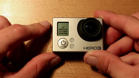 Resetting Wifi Hero 3 | howto reset gopro hero 3 3 wifi passwords fast method