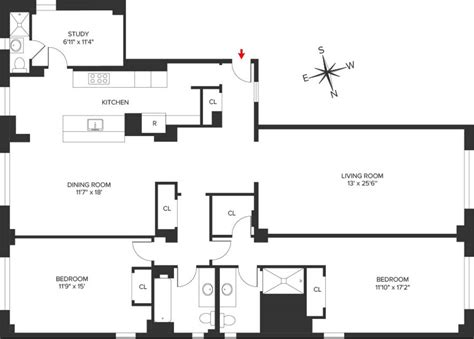 Classic 6 Floor Plan | what is a classic six streeteasy