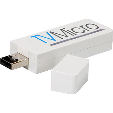 Tvmicro Express Brings Tv To Your Mac And Ipod by Miglia Tvmicro Express External Usb 2 0 Tv Tuner Tvm 041 B H