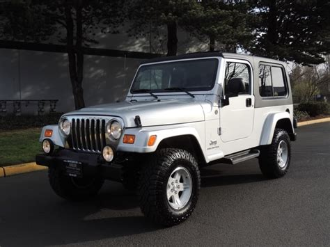2005 jeep unlimited lifted 2005 jeep wrangler unlimited 4wd 6 spd manual moonroof lifted