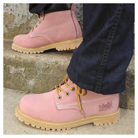 safetygirl steel toe waterproof womens work boots safety