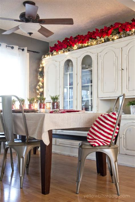 Garland Above Kitchen Cabinets Cabinets Decor And Home On Pinterest