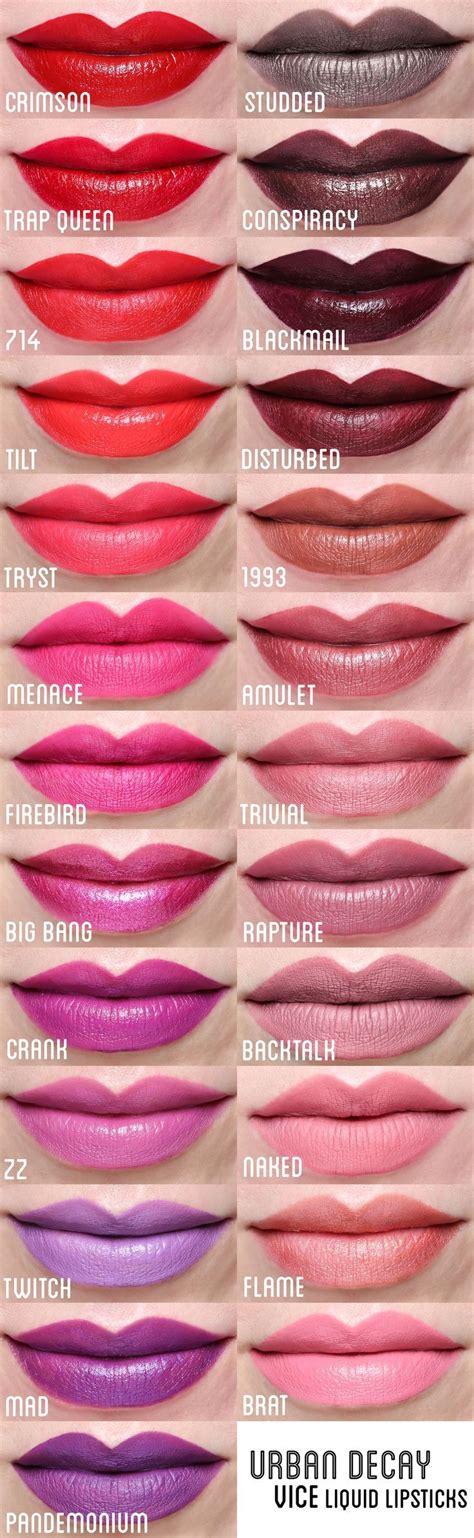 Decay Vice Lipstick decay vice liquid lipstick swatches lipstick lip