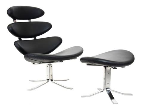famous designer chairs corona chair pk black