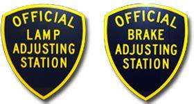dmv brake and light inspection brake l inspection ed s garage