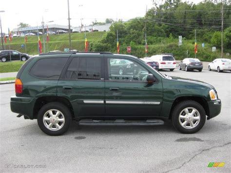 gmc envoy 2002 slt polo green metallic 2002 gmc envoy slt exterior photo