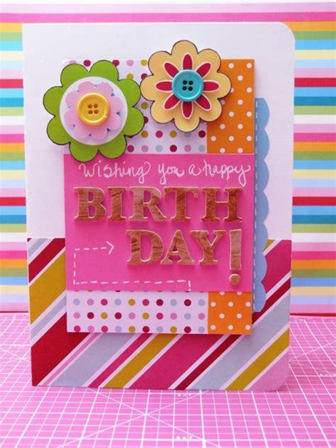 Handmade Beautiful Birthday Cards - handmade birthday cards with stunning decoration trendy