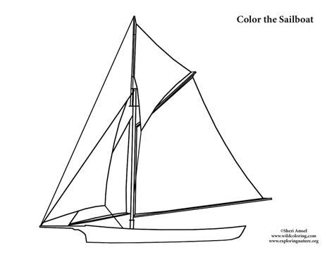 Sailboat ? Coloring Nature