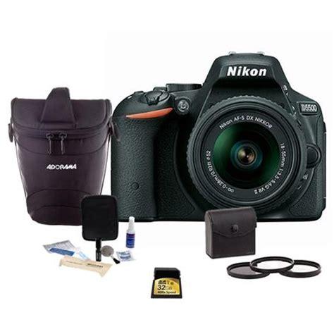 Nikon D5500 Black Af S 18 55mm Vr Ii Sandisk 8gb Screen Guard nikon d5500 dslr w af s dx 18 55mm f 3 5 5 6g vr ii lens free kit black 1546 a