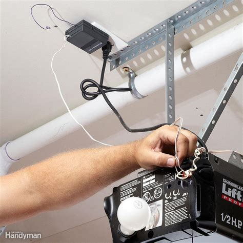 Built In Garage Door Opener Do Your Own Garage Door Opener Repair And Troubleshooting Family Handyman