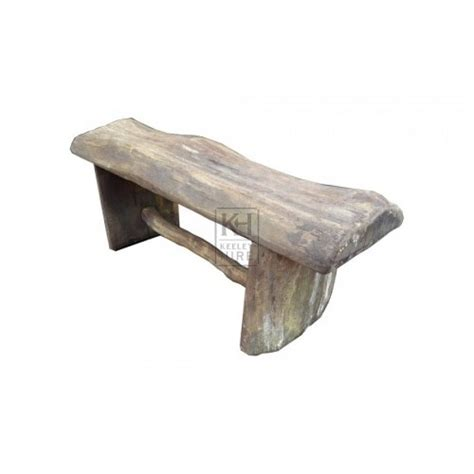 chunky wood bench benches prop hire 187 chunky wooden bench keeley hire