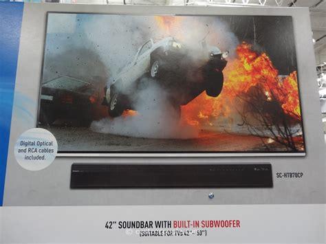 panasonic soundbar  built  subwoofer