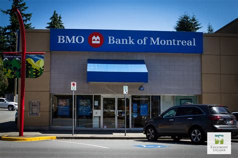 bank of montral bmo bank of montreal edgemont shop eat