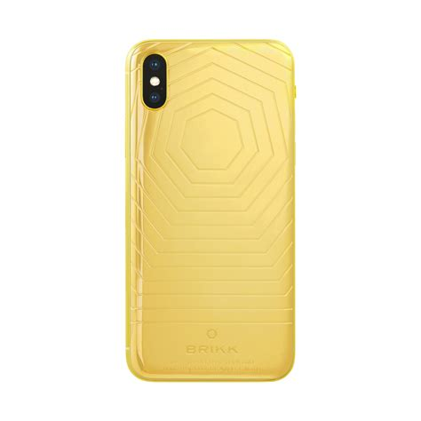 lux iphone xs  xs max classic   yellow gold