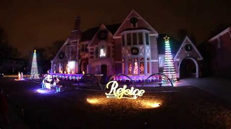 best christmas lights chicago park ridge youtube