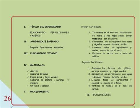 manual de experimento de ciencias para primaria manual de experimento de ciencias para primaria