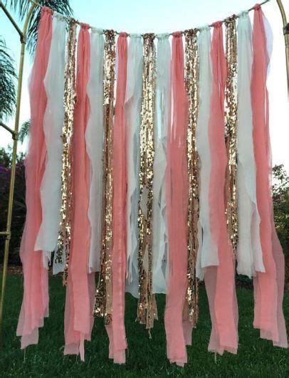 Tiray Foil Curtain Slinger Foil 20 the top quinceanera backdrop ideas