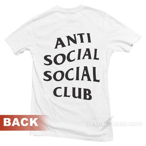 Consign Assc Anti Social Social Club On My Way assc anti social social club t shirt front and back trendstees
