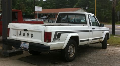 jeep pickup comanche jeep comanche pickup photos reviews news specs buy car