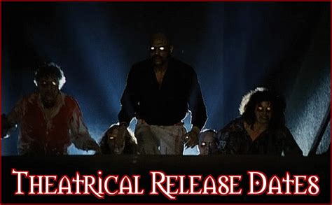 The Horror Club Theatrical Release Dates For February