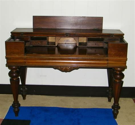 Antique Spinet Desk by Antique Walnut Spinet Desk Piano Desk Antique